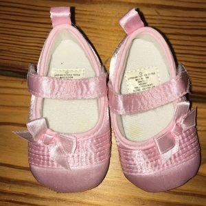 Baby Size 1 crib shoes ballet slippers newborn
